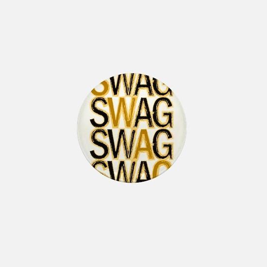 Swag (Gold) Mini Button