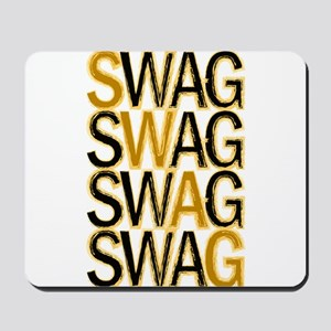 Swag (Gold) Mousepad