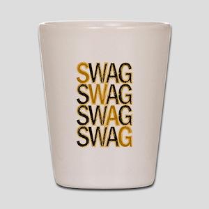Swag (Gold) Shot Glass