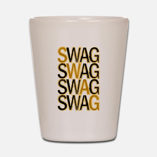Swag (Gold) Shot Glass