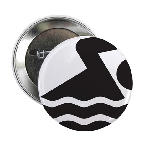"""Swimmer 2.25"""" Button (10 pack)"""