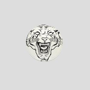 Wild Cat Mini Button