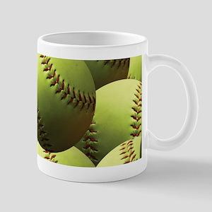 Softball Wallpaper Mug