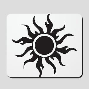 Tribal Sun Mousepad