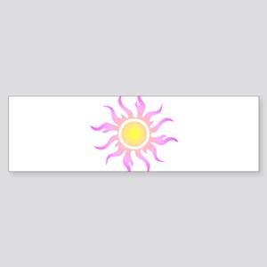 Tribal Sun Sticker (Bumper)