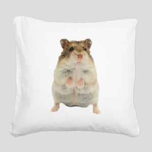 Campbells Russian Hamster Square Canvas Pillow