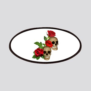 Skulls Roses Patches