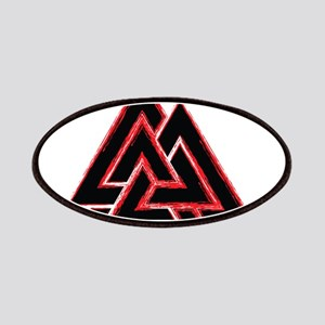 Valknut (red) Patches