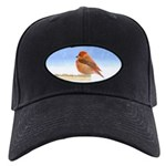 Scarlet Tanager Black Cap with Patch