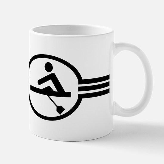 Rowing Crew Emblem Mug