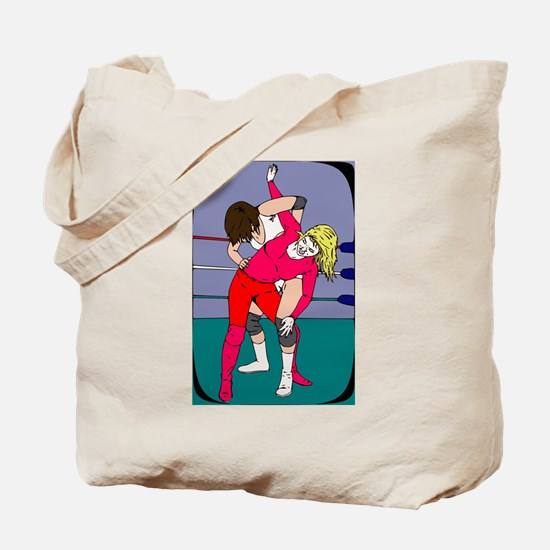 Professional Wrestling Tote Bag