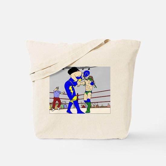Wrestling Chair Hit Tote Bag