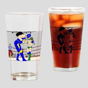 Wrestling Chair Hit Drinking Glass