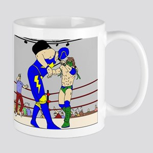 Wrestling Chair Hit Mug