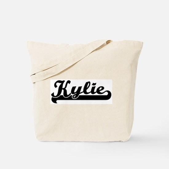 Black jersey: Kylie Tote Bag