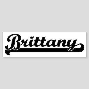 Black jersey: Brittany Bumper Sticker
