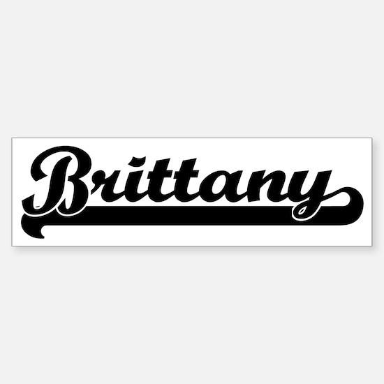 Black jersey: Brittany Bumper Bumper Bumper Sticker