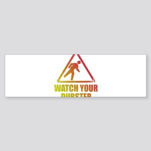 Watch Your Dubstep Sticker (Bumper)