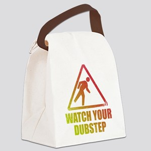 Watch Your Dubstep Canvas Lunch Bag
