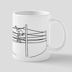 Pro Wrestling Ring Mug
