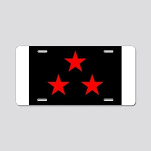 Flag of Nuevo Rico Aluminum License Plate