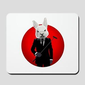 Bunny Suit Mousepad