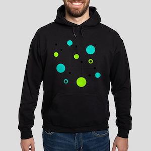 Lime & Teal Dot Dash Sweatshirt