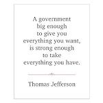 Thomas Jefferson Small Poster
