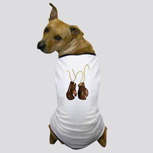 Leather Boxing Gloves Dog T-Shirt
