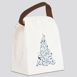 Christmas Tree Canvas Lunch Bag