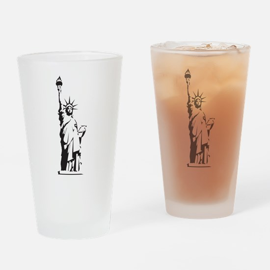 Statue of Liberty Drinking Glass