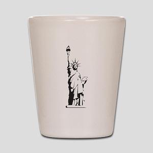 Statue of Liberty Shot Glass