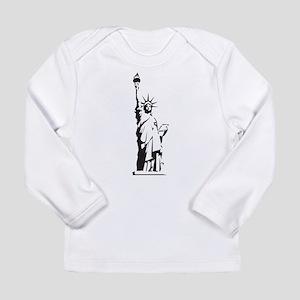 Statue of Liberty Long Sleeve Infant T-Shirt