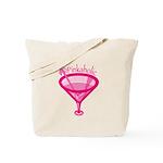 Pinkaholic Martini Tote Bag