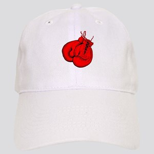 Red Boxing Gloves Cap