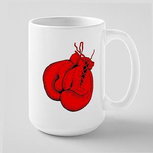 Red Boxing Gloves Large Mug