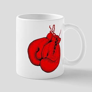 Red Boxing Gloves Mug
