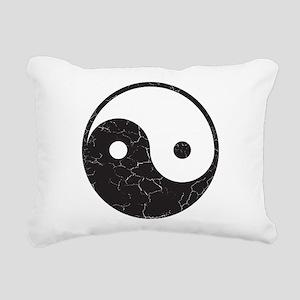 Yin Yang Rectangular Canvas Pillow