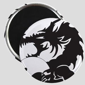 Yin Yang Dragon Magnet