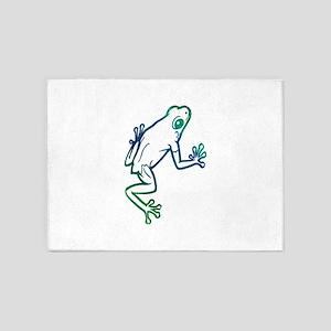 Frog 5'x7'Area Rug
