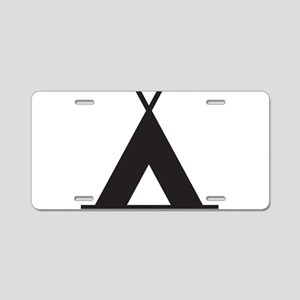 Tent Aluminum License Plate