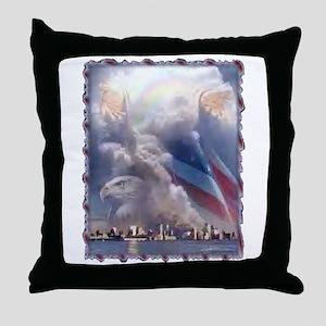 In God's Hands Throw Pillow