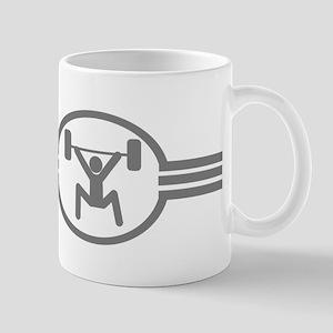 Weightlifting Icon Mug