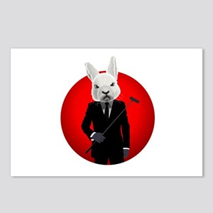 Bunny Suit Postcards (Package of 8)