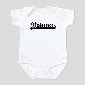 Black jersey: Briana Infant Bodysuit