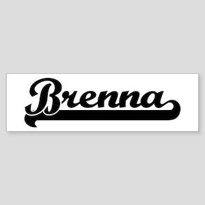 Black jersey: Brenna Bumper Sticker