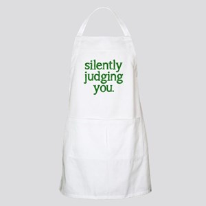 Silently judging you Apron