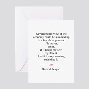 Ronald reagan greeting cards cafepress ronald reagan greeting card bookmarktalkfo Choice Image