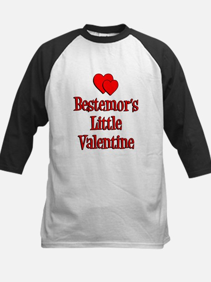 Bestemors Little Valentine Kids Baseball Jersey