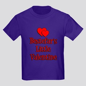 Bestefars Little Valentine Kids Dark T-Shirt
